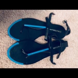 I'm selling a pair of  Wild Diva sandals